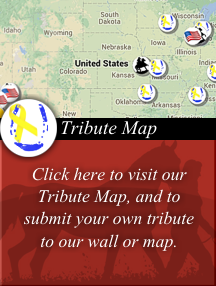 View and Post Comments to the Tribute Map